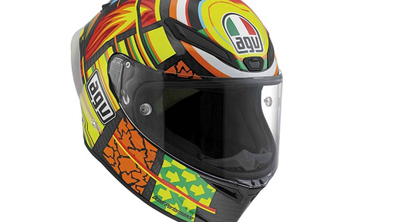 AGV Pista GP Rossi Replica: the most advanced, ugly helmet ever