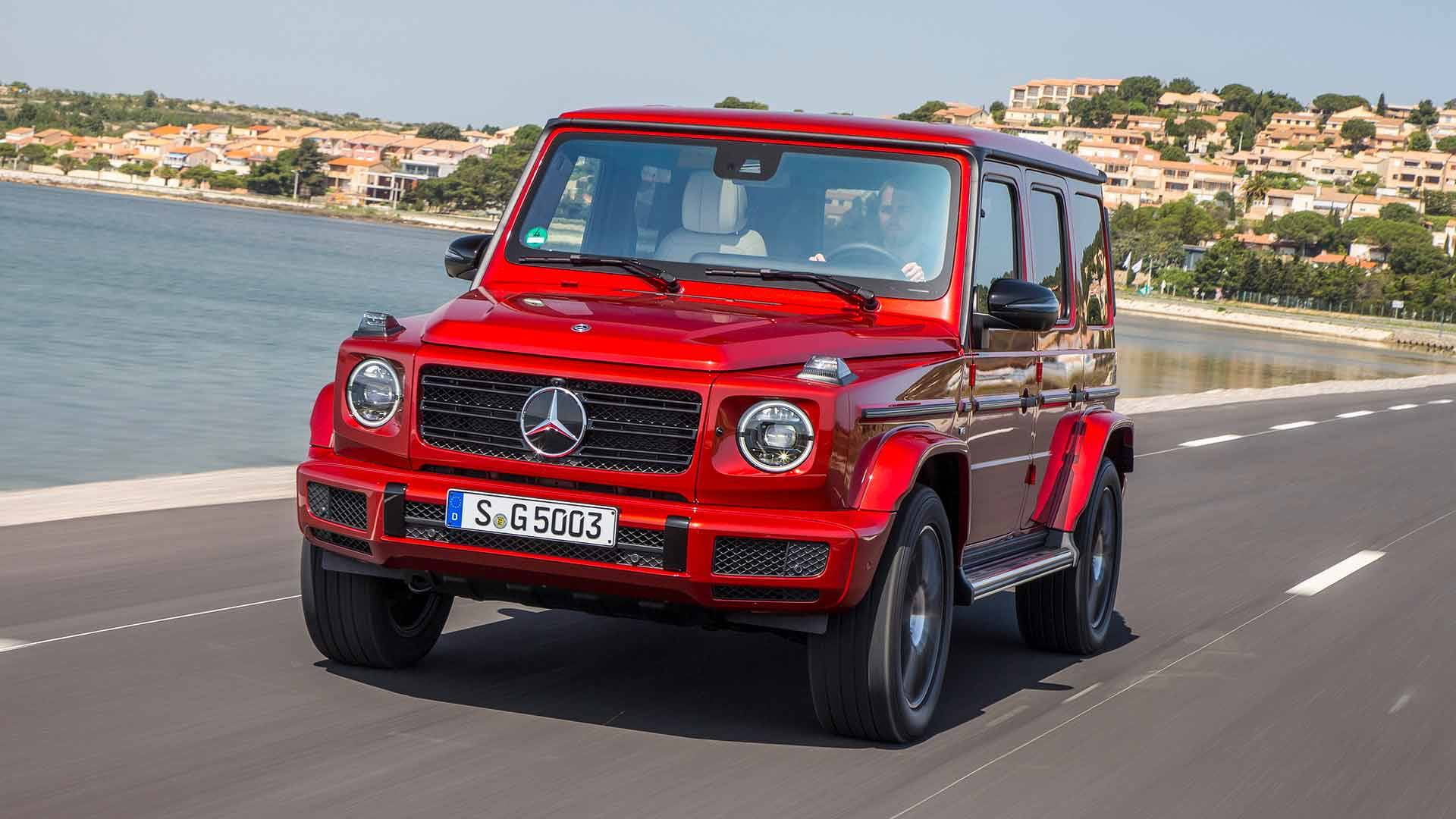 2019 Mercedes-Benz G550 First Drive: Brute Goes To Finishing