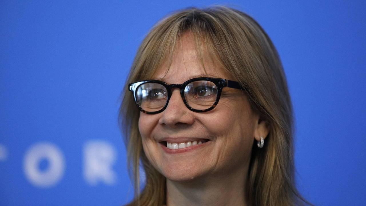 GM CEO'su Mary Barra