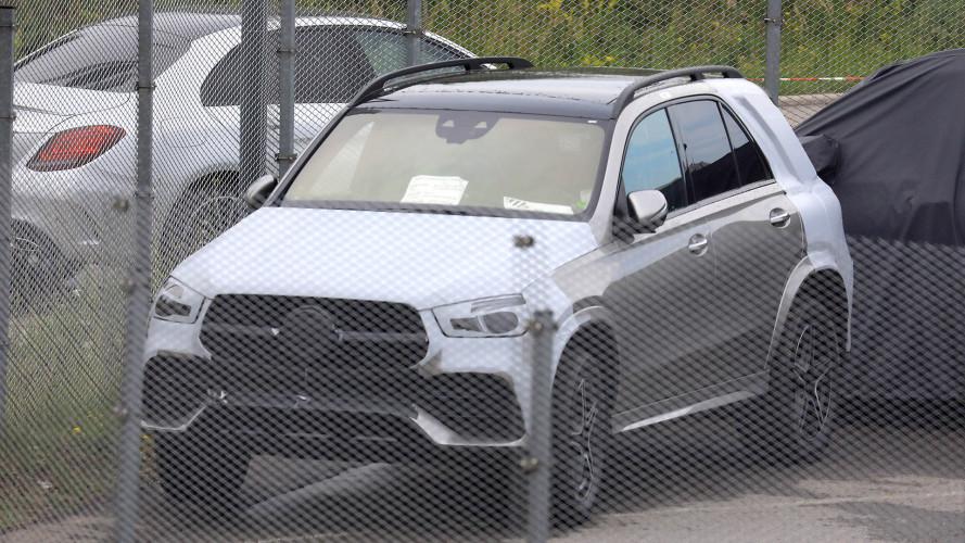 Mercedes GLE 2019 ungetarnt