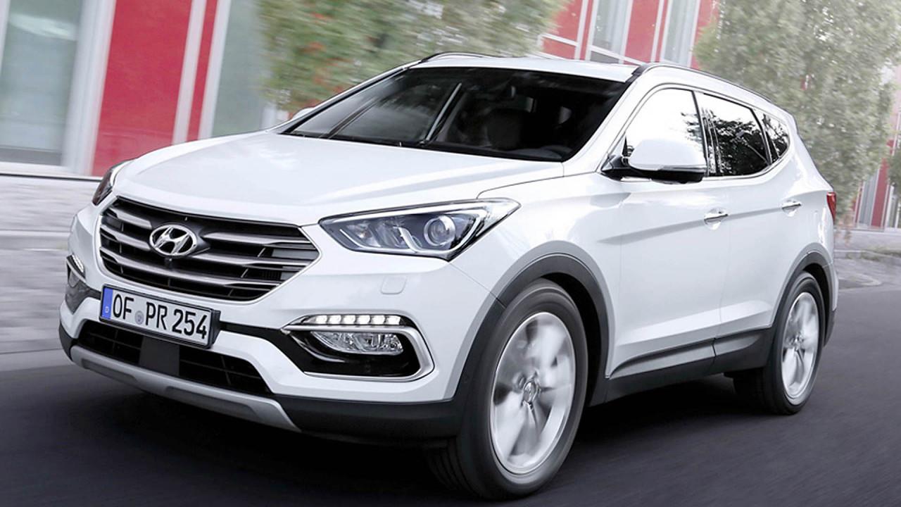 Platz 3: Hyundai Santa Fe