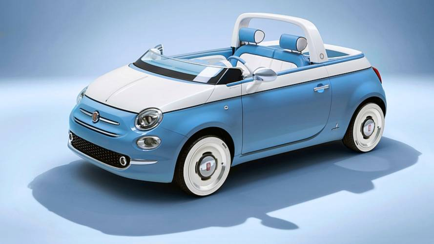 Is this Fiat 500 Spiaggina too adorable?