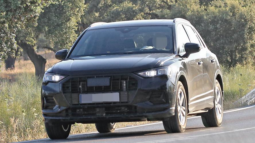 Audi Q3 als Erlkönig