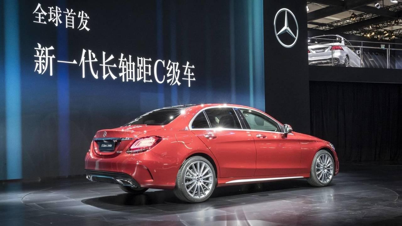2018 Mercedes C-Class L facelift