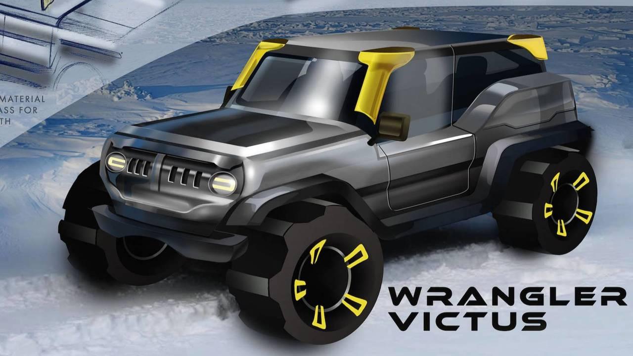 FCA Drive For Design Jeep Wrangler