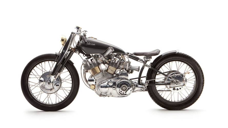 Ian Barry's Stunning Vincent Black Falcon