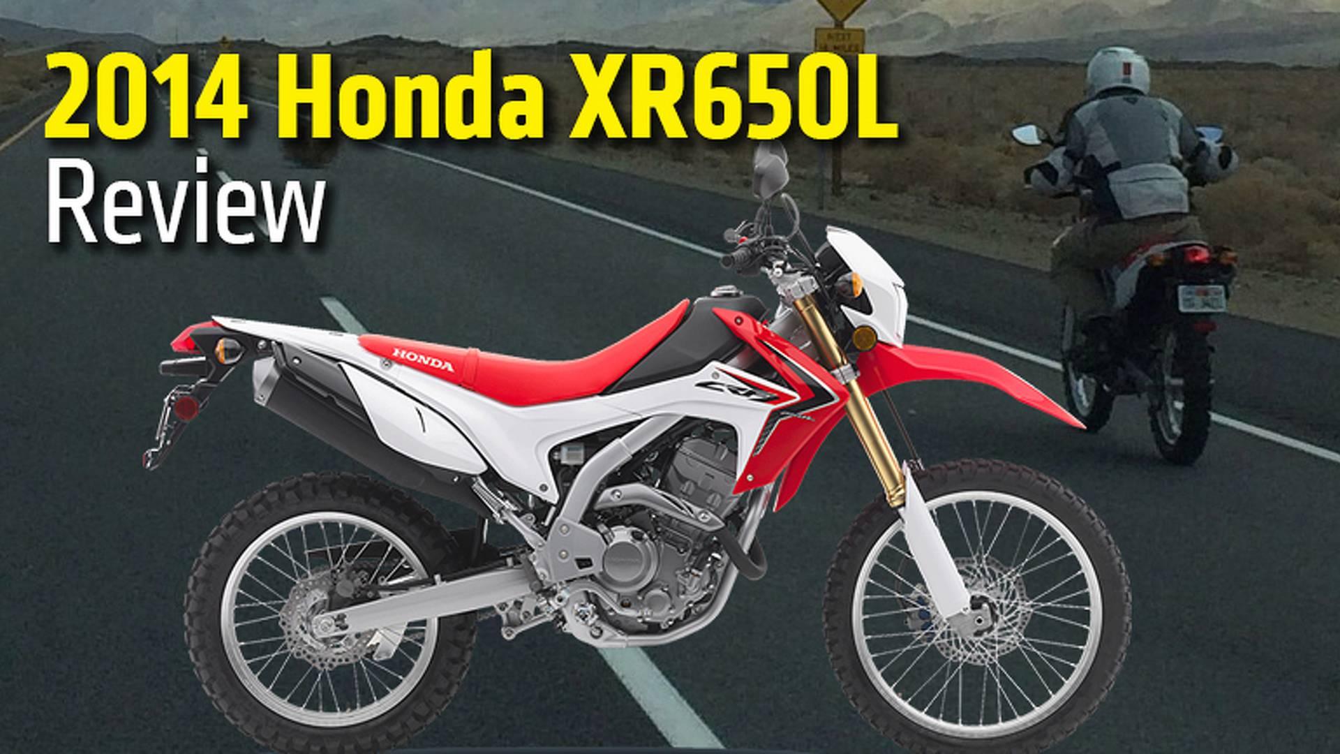 2014 Honda XR650L   Quick Look Review