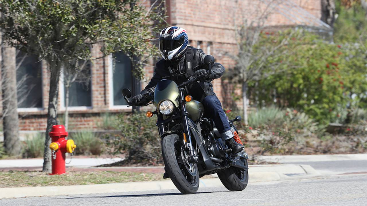 We Ride and Crash the Harley-Davidson Street Rod