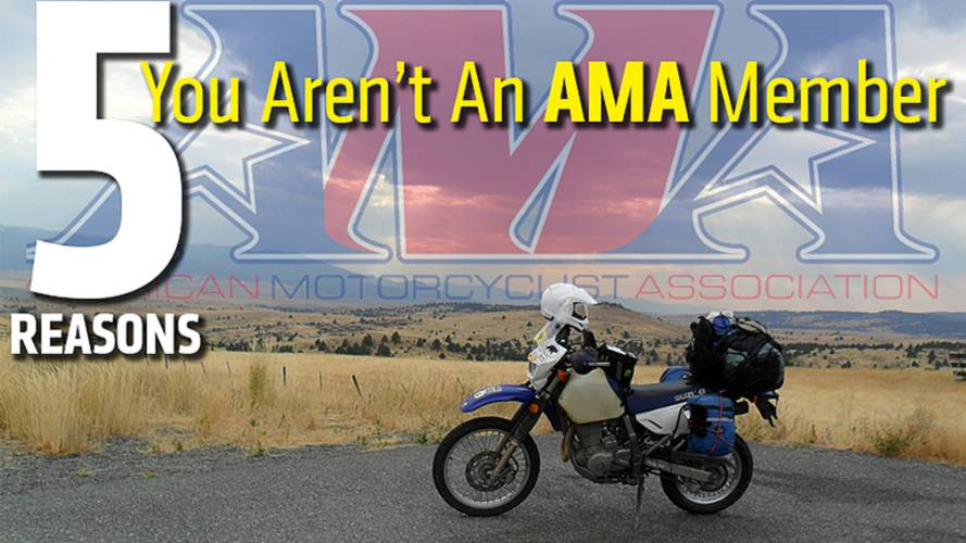 5 Reasons You Aren't An AMA Member