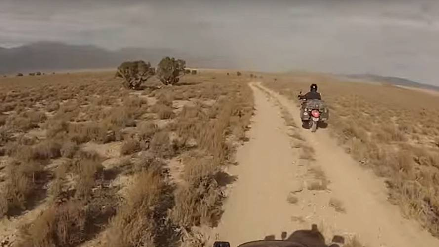 Video of the Day – Battle Born KLR650 Ride