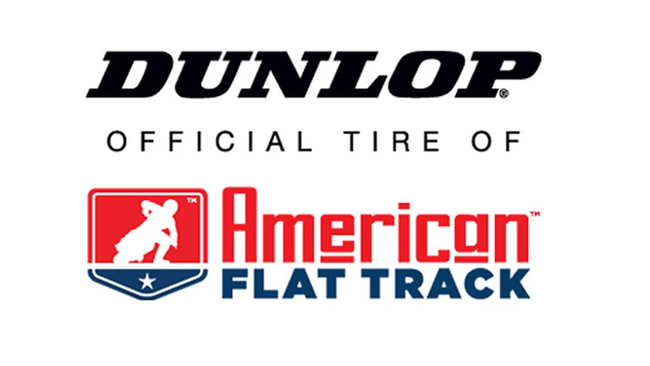 Dunlop Pumps Up Flat Track Support
