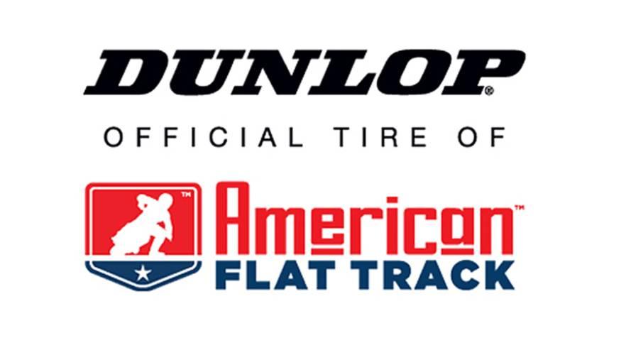 Dunlop Pumps Up Flat Track Support