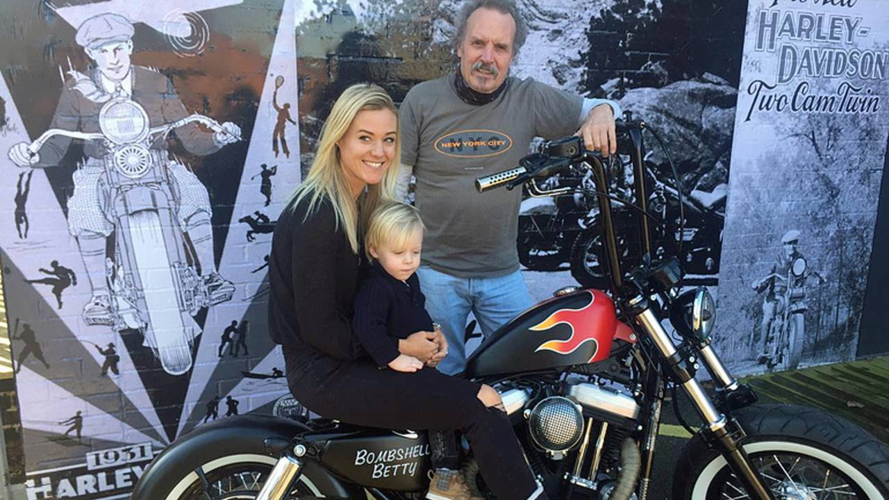 Lucky Kid Gets Battle of the Kings Harley at Age Two