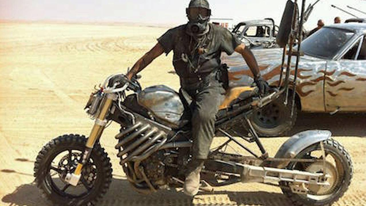 Video of the Day - Fury Road Motorcycle Stunts with Stephen Gall