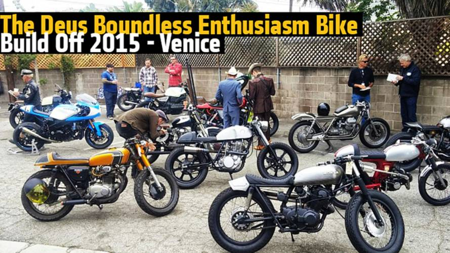 Deus Ex Machina Bike Build Off 2015 - Venice