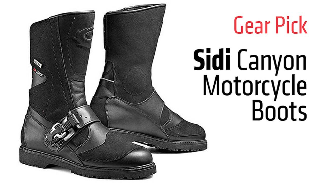 Gear Pick: Sidi Canyon Motorcycle Boots