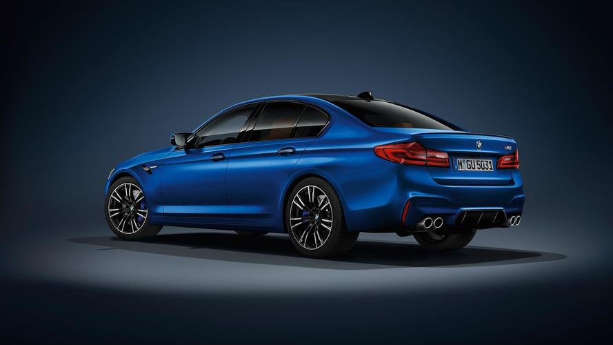 BMW M5 Frozen Marina Bay Blue Metallic