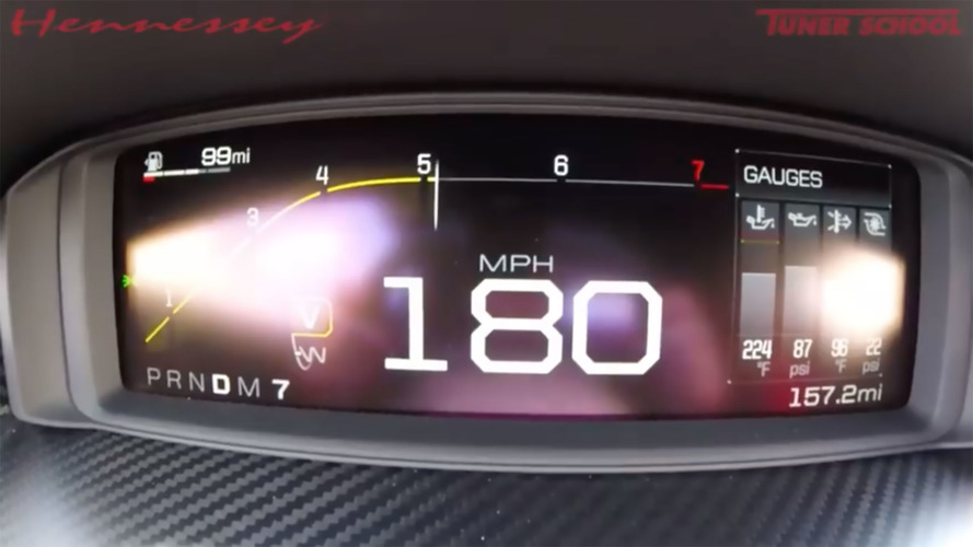 Watch Hennessey Test Stock Ford GT Heritage Edition To 180 MPH