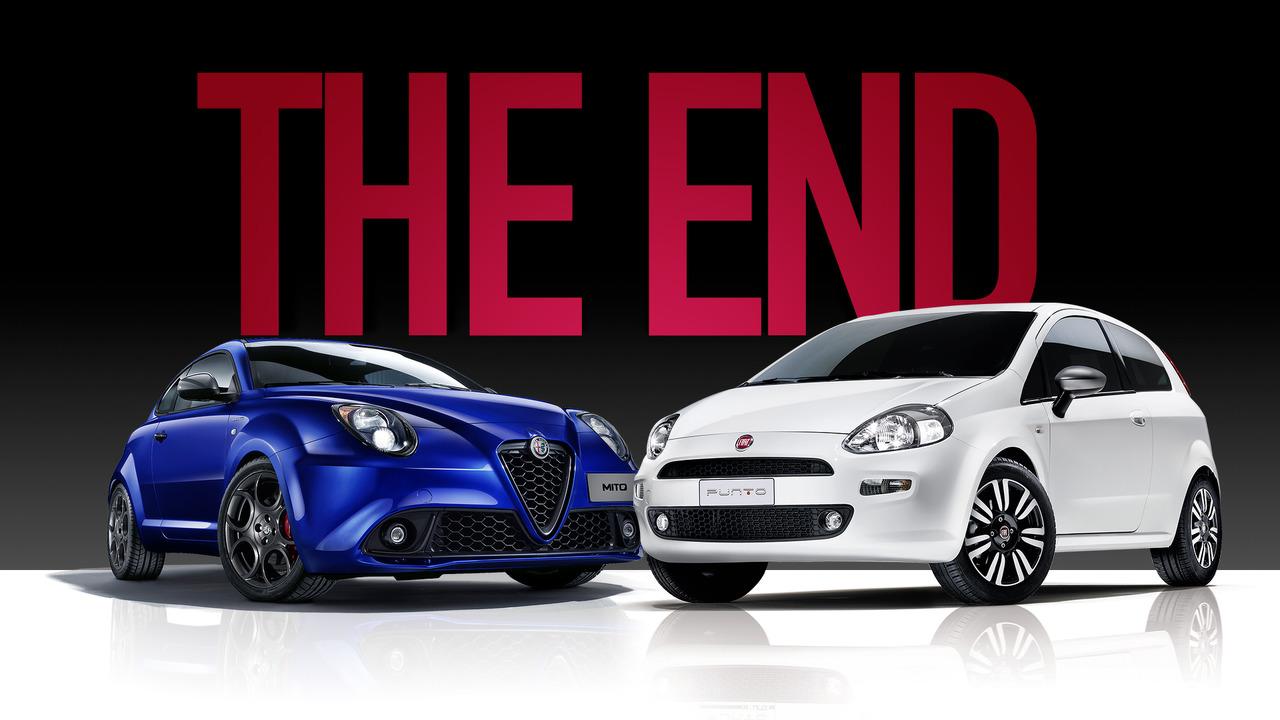 Fiat Punto e Alfa Romeo MiTo, the end