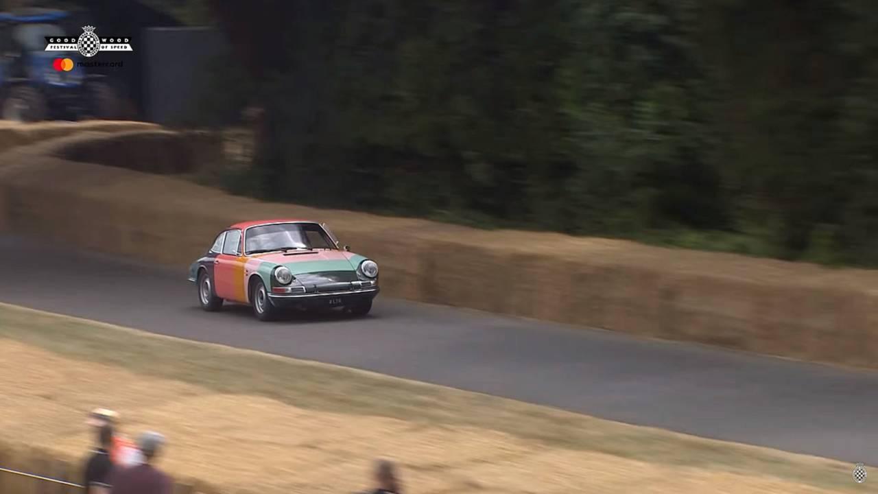 Classic Porsche 911 at Goodwood