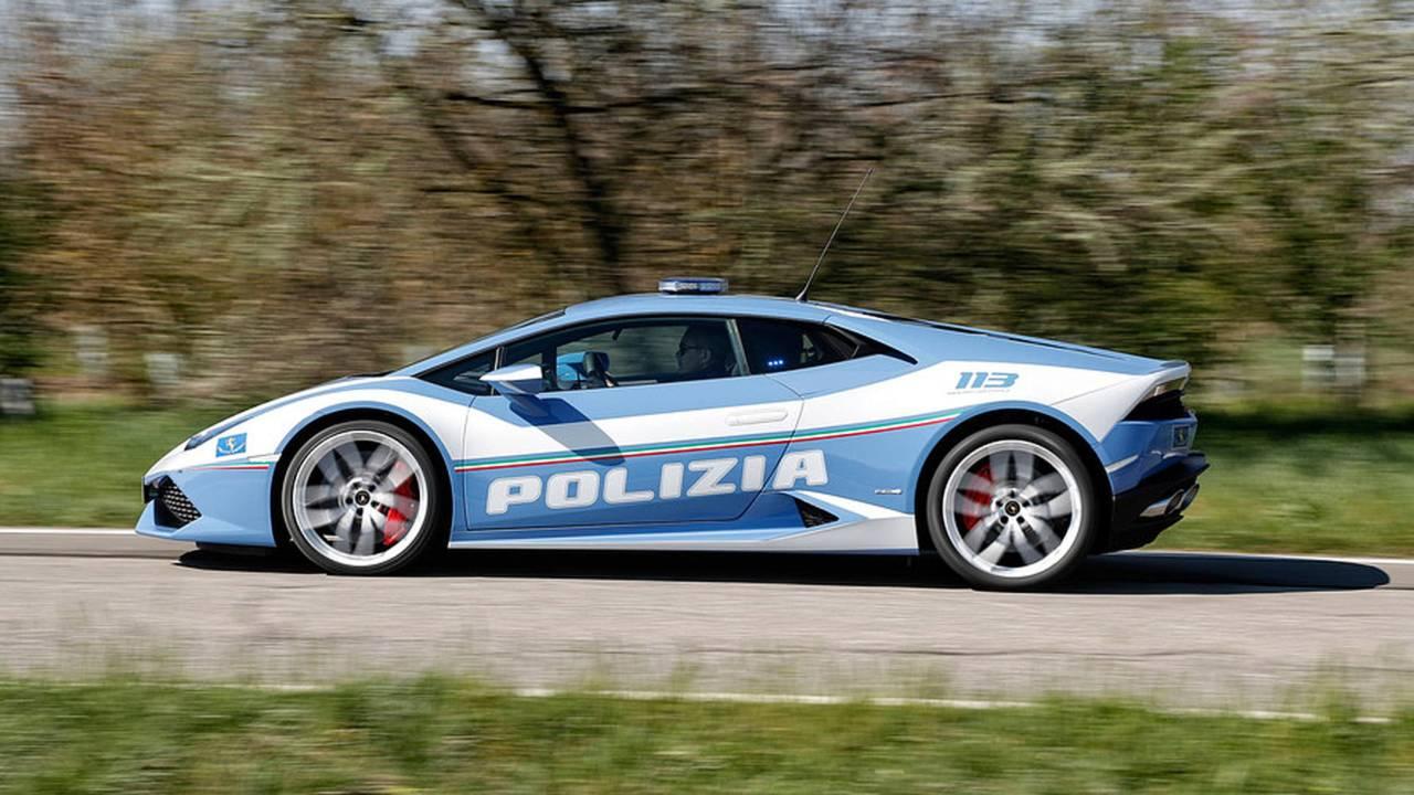 Lamborghini Huracán : police italienne