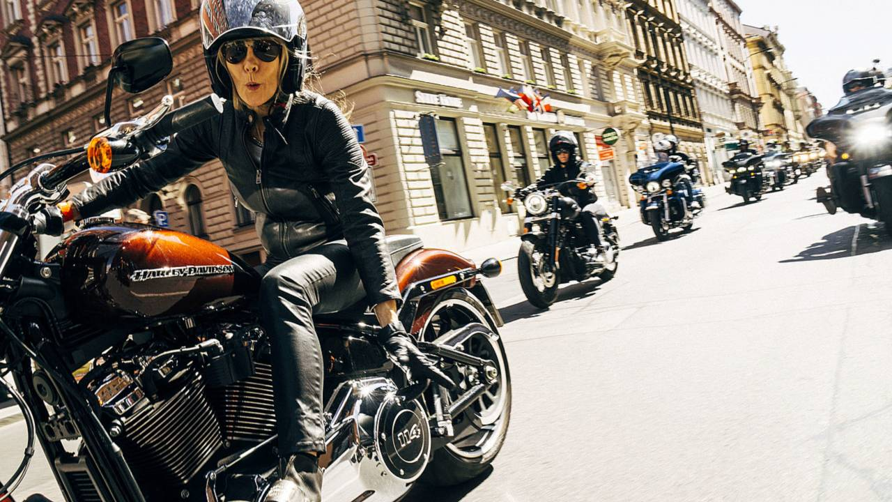 Harley Celebrates 115th Anniversary in Prague