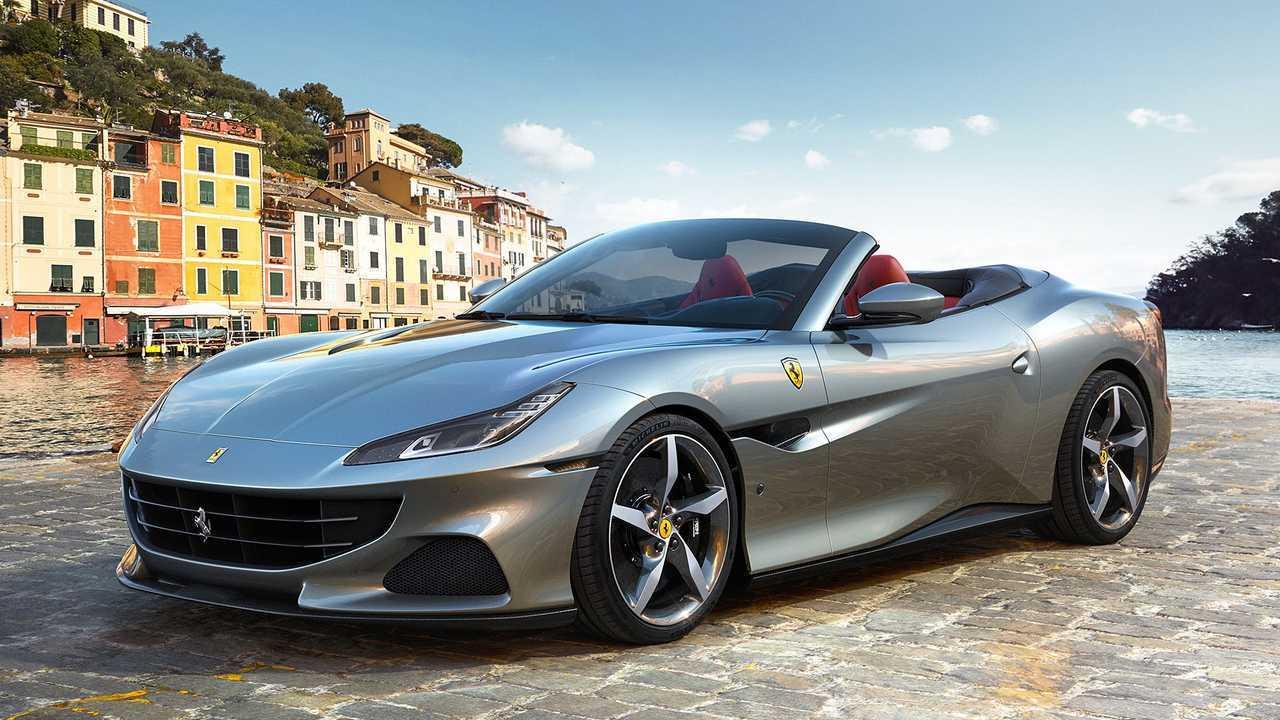 Ferrari Portofino M, вид спереди