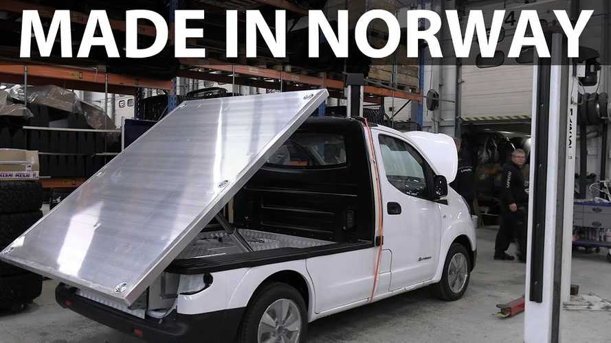 Check Out This Nissan e-NV200 Tipper Truck