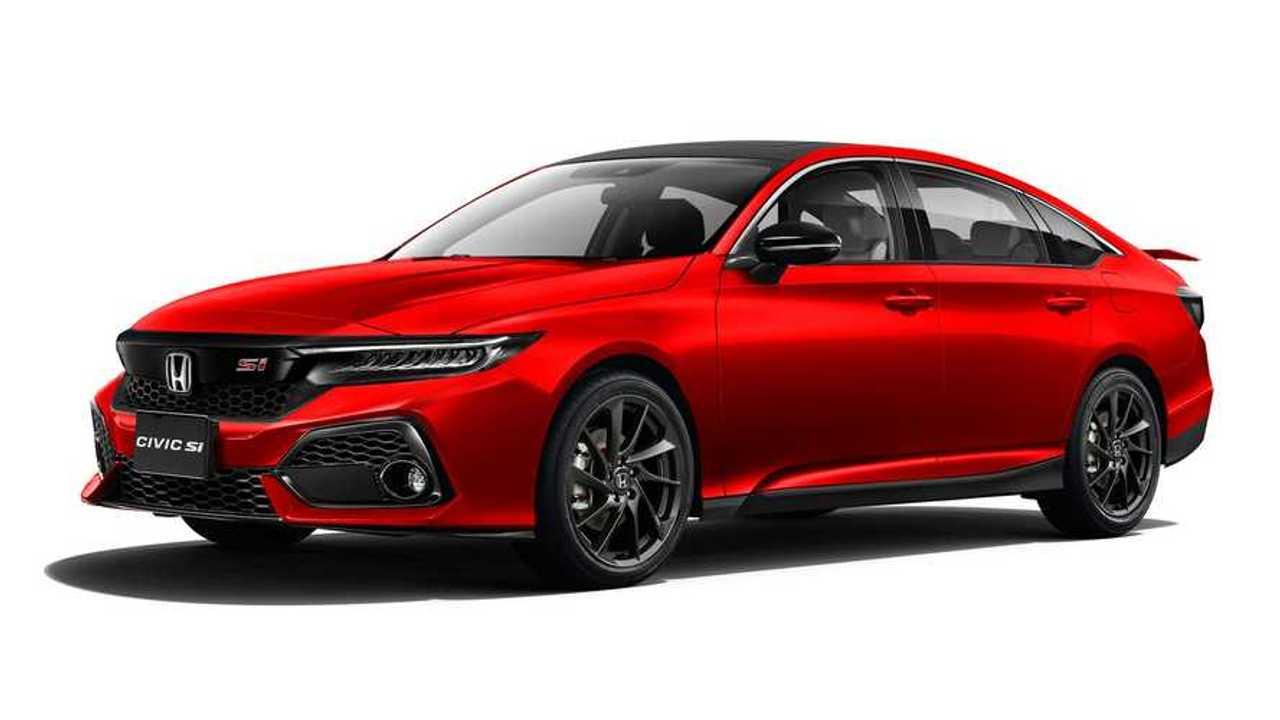 2022 Honda Civic Si Renderings