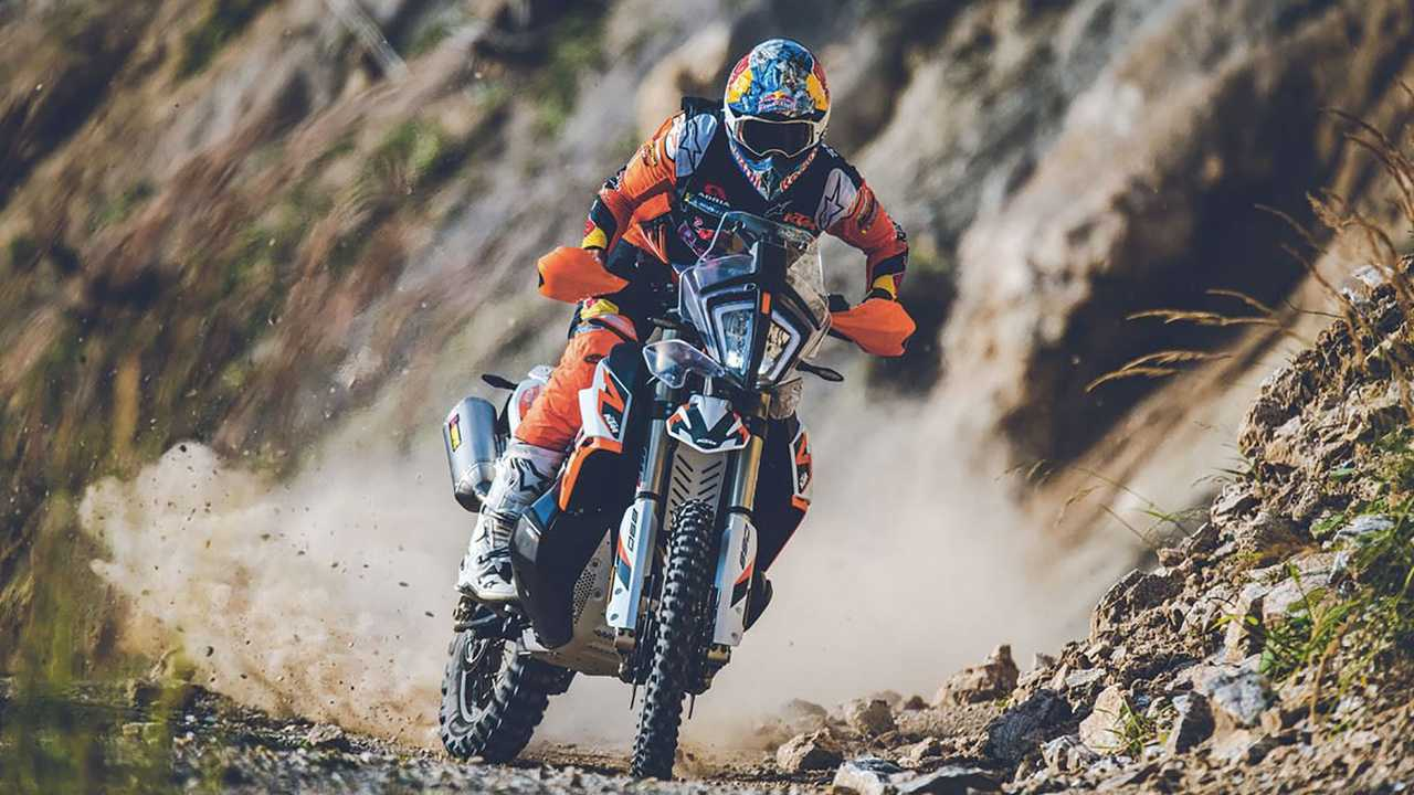 2021 KTM 890 Adventure R Rally, Action, Off-Road
