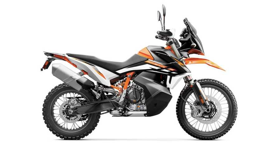 2021 KTM 890 Adventure R and Adventure R Rally