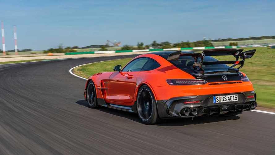 Mercedes-AMG GT Black Series: más rápido que un 488 Pista en Hockenheim