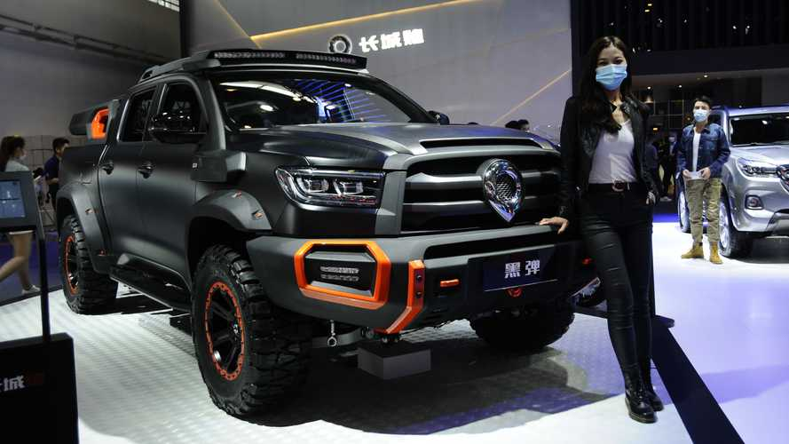 Great Wall Black  Bullet, il super pick-up si ordina a Shanghai