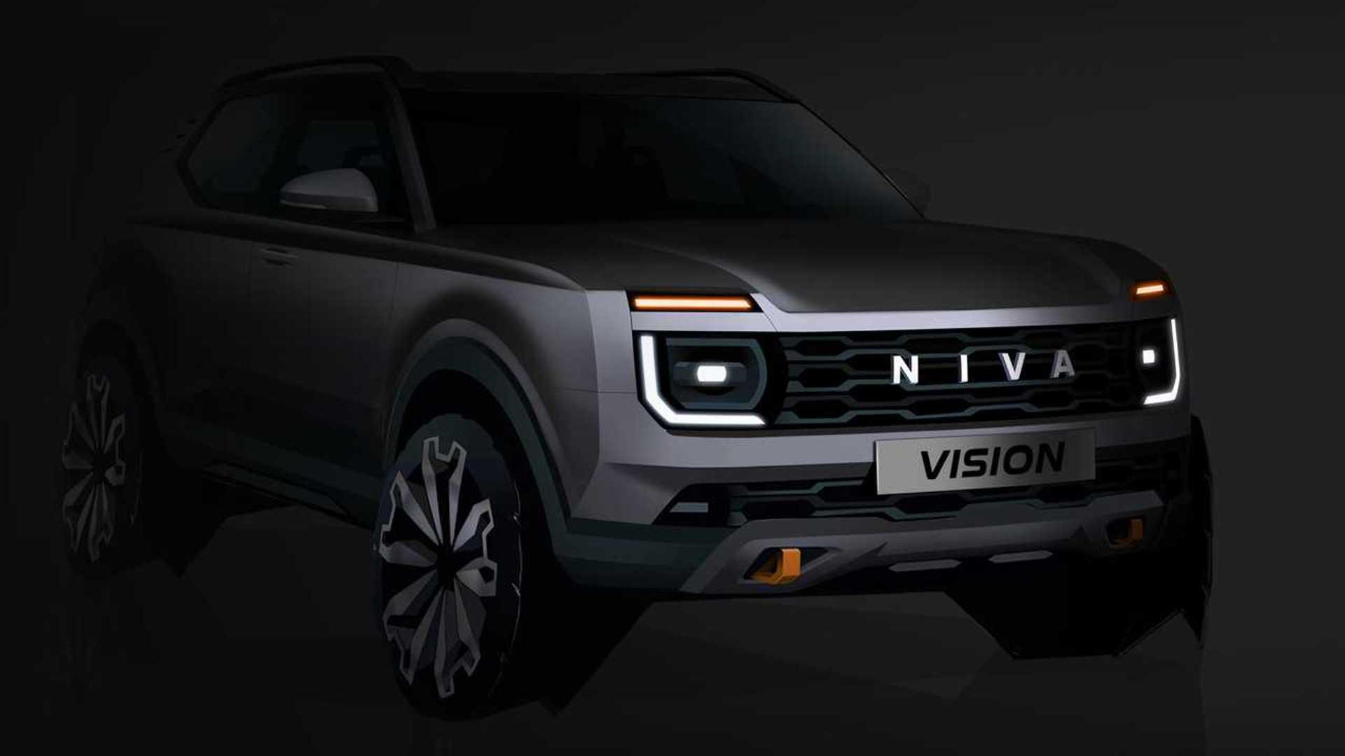 Абсолютно новая Lada Niva появится в 2024 году