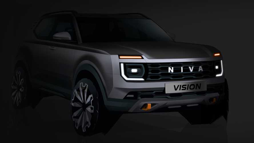 All-new Lada Niva teased, coming in 2024