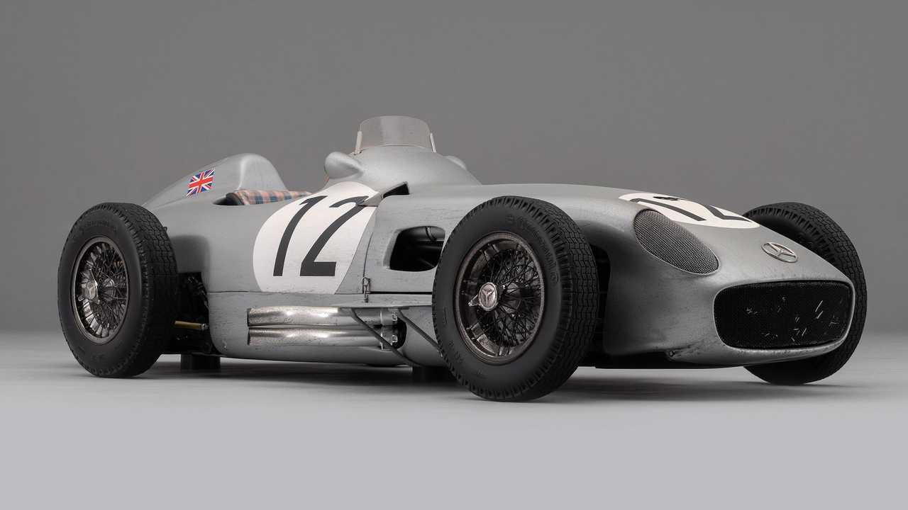 Sir Stirling Moss' Mercedes W196 Monoposto by Amalgam Collection