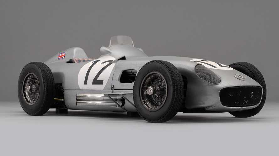 Amalgam Debuts Weathered Model Of Sir Stirling Moss' Mercedes GP Car