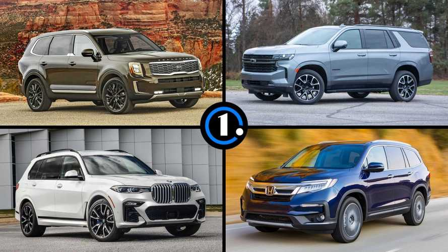 3-Row SUVs for 2021 - The Best and The Rest