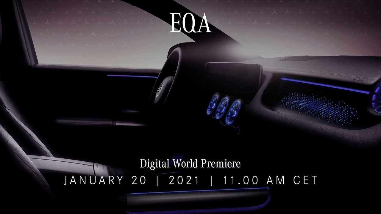 Mercedes-Benz EQA Teaser Italiano