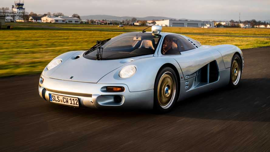 L'incredibile (e unica) Isdera Commendatore 112i va all'asta