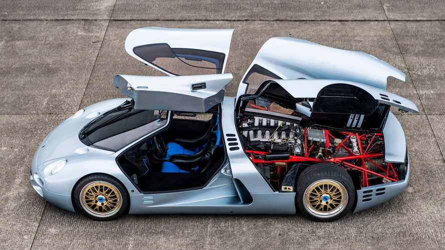 One-off Mercedes V12-powered Isdera Commendatore 112i comes up for sale