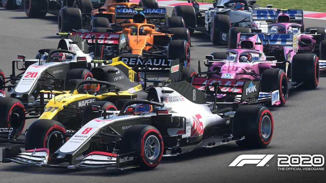 F1 2020 Hungary circuit screenshot