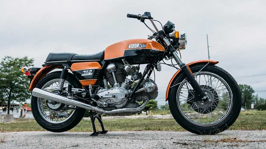 This 1974 750GT Had Ducati's First L-Twin Engine