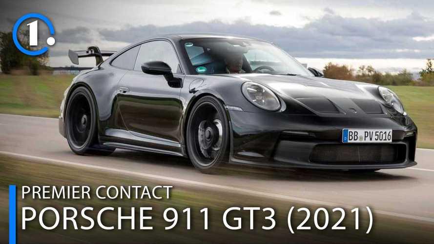 À bord de la Porsche 911 GT3 Prototype - On attend notre tour !