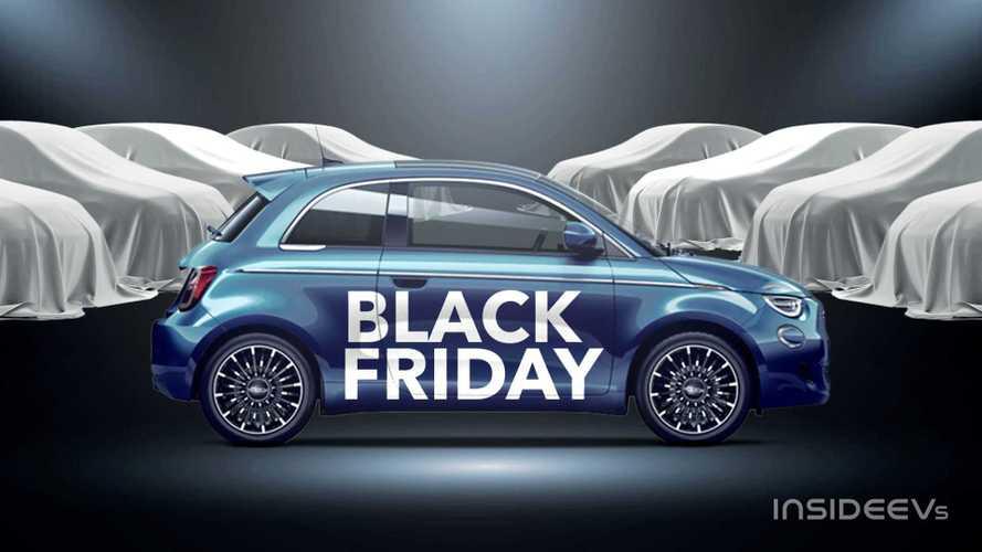 Le auto elettriche, ibride e i servizi in offerta per il Black Friday