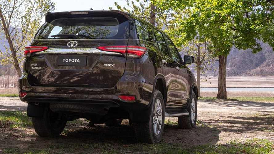 Toyota SW4 2021 (Brasil)