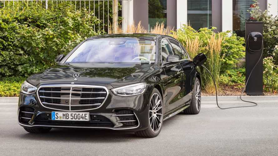 Mercedes-Benz S580e plug-in quietly revealed in Europe with 510 bhp