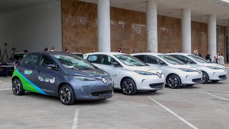 Renault Zoe: compacto elétrico passa a integrar frota do Governo do Paraná