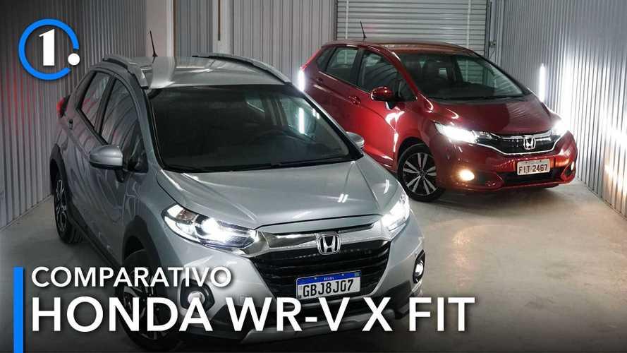 Comparativo: Honda WR-V EXL vs. Fit EXL - Tão iguais... e tão diferentes