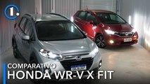 Honda WR-V ELX vs. Honda Fit EXL